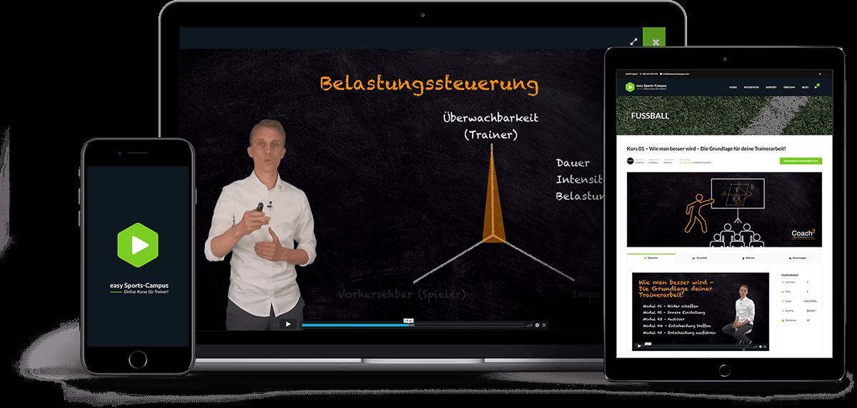 Online Lernen Sport