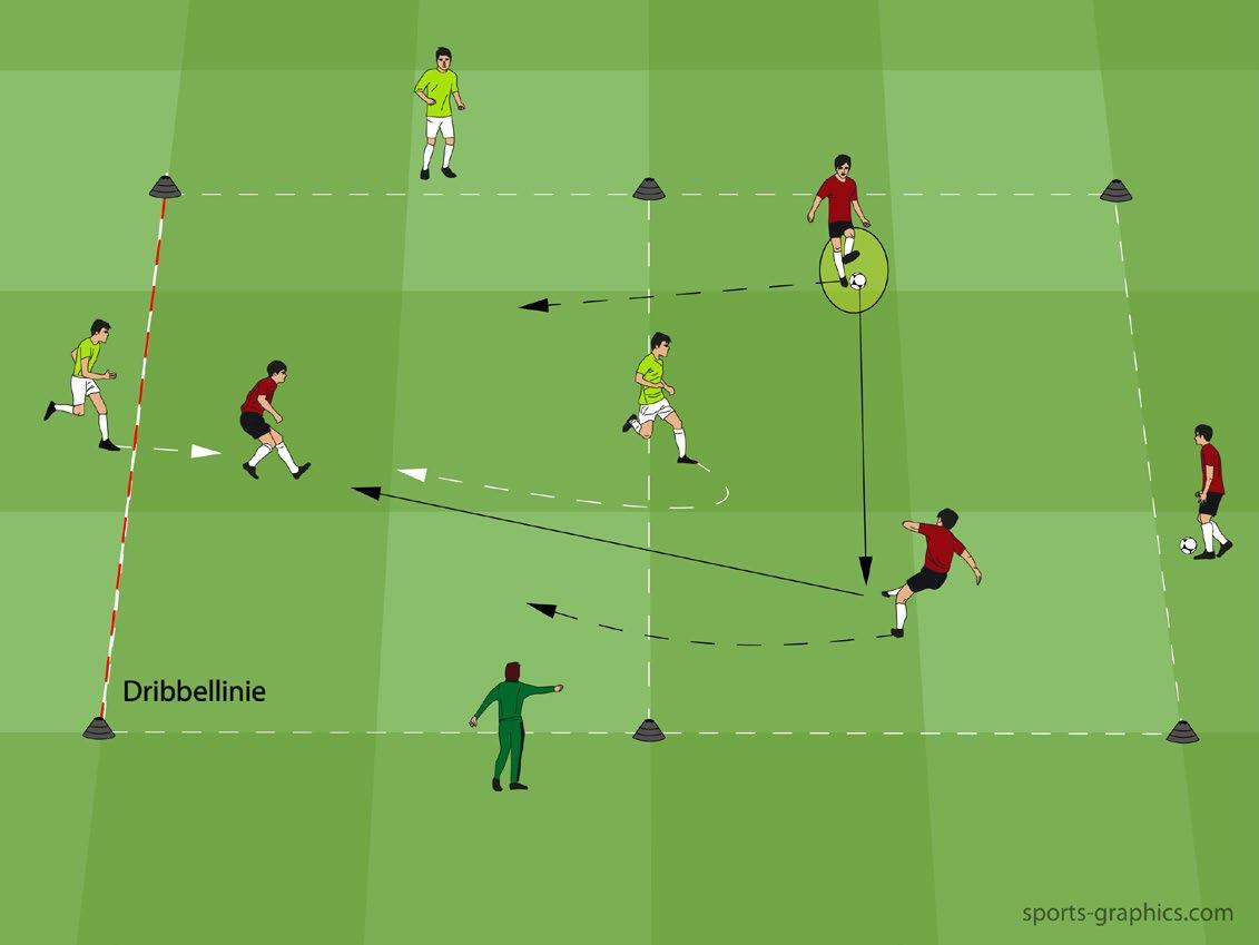 Individualtraining im Fussball